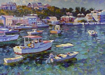 Bermuda 1991 Limited Edition Print - Howard Behrens