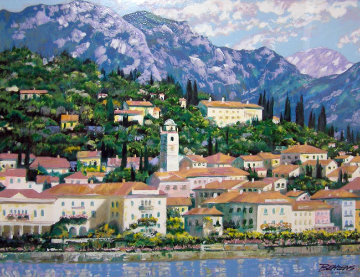 Bellagio Hillside, Italy Limited Edition Print by Howard Behrens