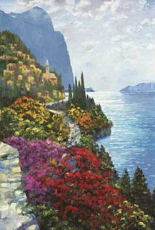 As the Sun Sets Amalfi AP Limited Edition Print by Howard Behrens