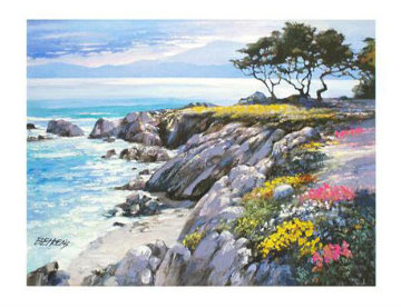 Monterey Bay After The Rain, California  2009 Limited Edition Print by Howard Behrens