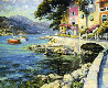 Antibes, France 1990 Limited Edition Print by Howard Behrens - 0