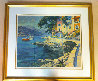 Antibes, France 1990 Limited Edition Print by Howard Behrens - 1