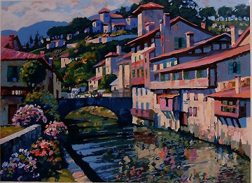 Morning in St. Jean 1996 Limited Edition Print by Howard Behrens