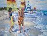 Untitled (Beach Scene) 1981 36x48 Original Painting by Howard Behrens - 0