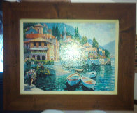 Lake Como Landing Limited Edition Print by Howard Behrens - 1