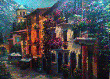 Village Hideaway 2000 Limited Edition Print - Howard Behrens