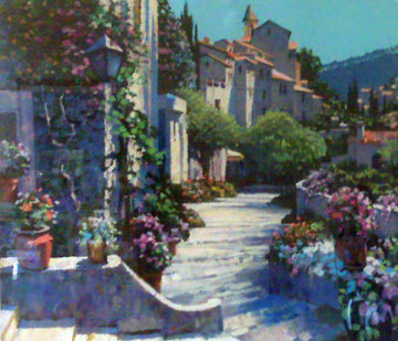 Old World Charm AP, 1990 Limited Edition Print - Howard Behrens
