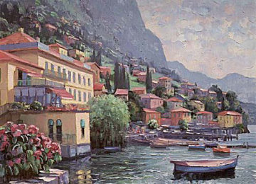 Il Lago Maggiore, Italy Limited Edition Print by Howard Behrens