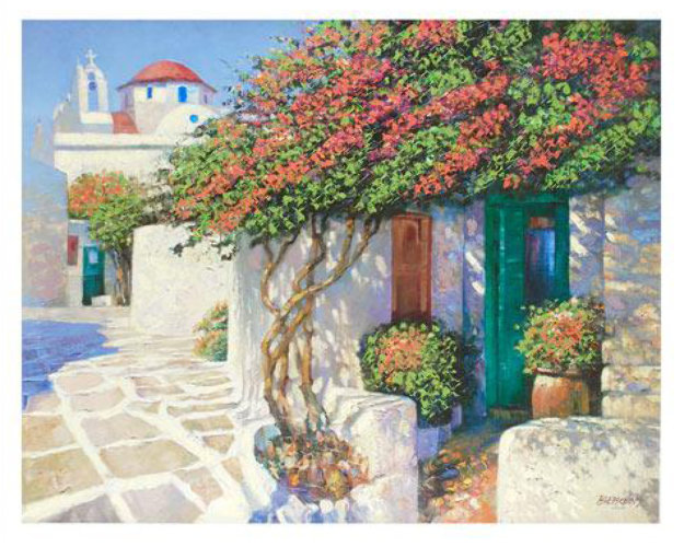 Memories of Mykonos, Greece Limited Edition Print by Howard Behrens