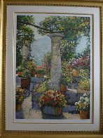 Capri Patio 2003 Limited Edition Print by Howard Behrens - 1
