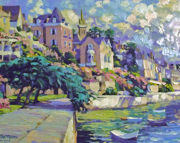 Brittany Canvas AP Embellished 1992 Limited Edition Print by Howard Behrens