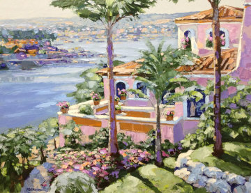 Newport Beach - From the California Suite Limited Edition Print by Howard Behrens