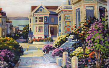 An Artist View 1994 Limited Edition Print by Howard Behrens