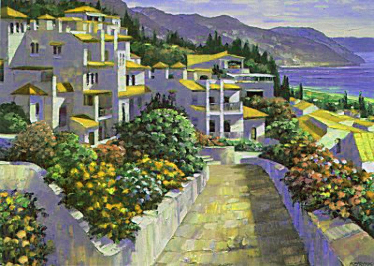 Mijas, Greece 1994 Limited Edition Print by Howard Behrens
