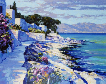 Cap Ferrat, France 1990 Limited Edition Print - Howard Behrens