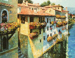 Bassano Del Grappa, Italy 2010 Embellished Limited Edition Print - Howard Behrens
