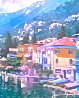 Lake Como, Italy 2007 Embellished Limited Edition Print by Howard Behrens - 3
