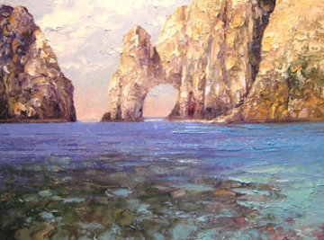 Los Arcos, Cabo San Lucas, Mexico 2011 Limited Edition Print by Howard Behrens