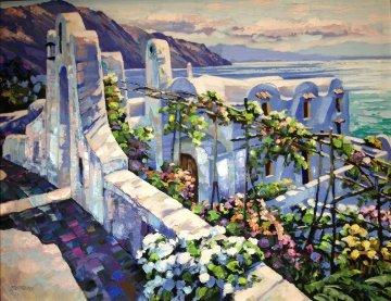 Rhodes, Greece Embellished Limited Edition Print - Howard Behrens