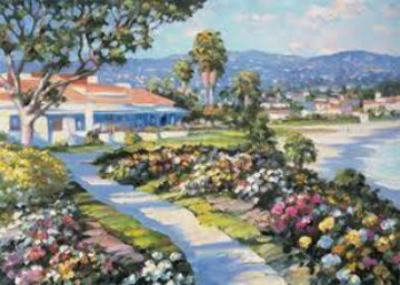 Laguna Beach from The California Suite 1989 Limited Edition Print by Howard Behrens