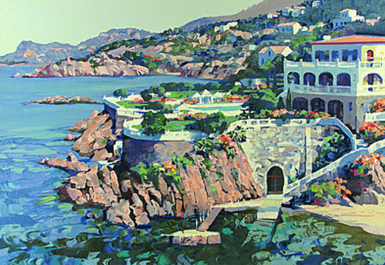Cap Roux 1990 Limited Edition Print by Howard Behrens