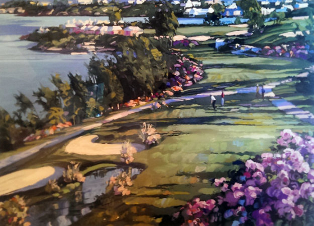 18th Fairway At Castle Harbor 1991 Limited Edition Print by Howard Behrens