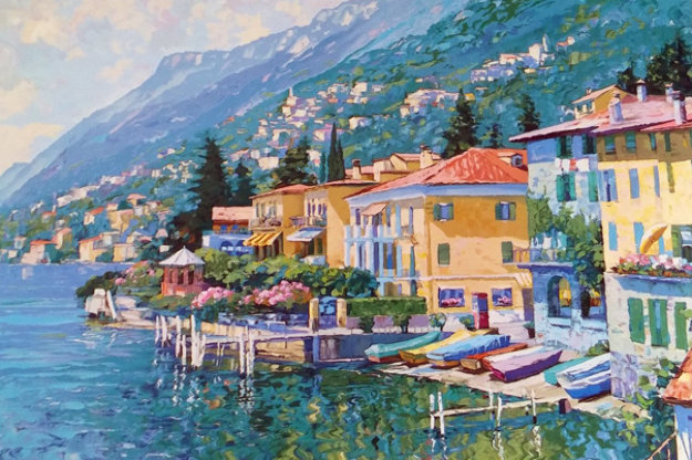 Lugano, Italy 1991 Limited Edition Print by Howard Behrens
