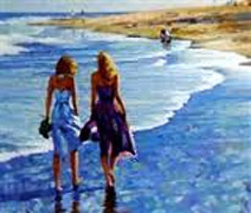 Surf Walk 1987 Limited Edition Print - Howard Behrens