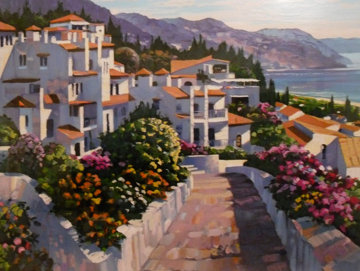 Mijas 1990 Limited Edition Print by Howard Behrens