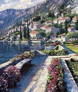 Varenna Vista 1993 Limited Edition Print - Howard Behrens