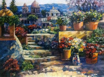 Domes of Mexico 2011 Limited Edition Print by Howard Behrens