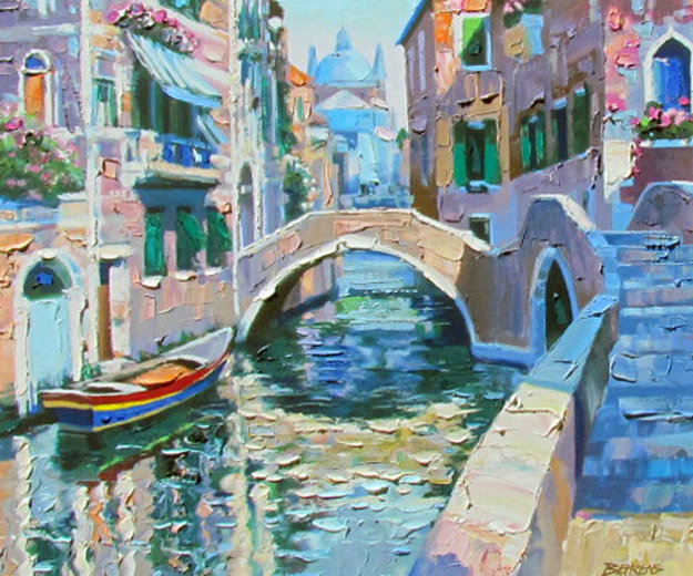 Venice Suite of 4  1991 (Italy) Limited Edition Print by Howard Behrens