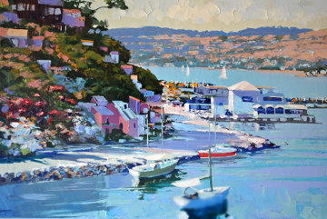Sausalito AP 1989 (California) Limited Edition Print - Howard Behrens