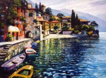Warmth of Varenna Limited Edition Print by Howard Behrens