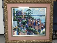 Afternoon in Dinard 1992 Limited Edition Print by Howard Behrens - 1