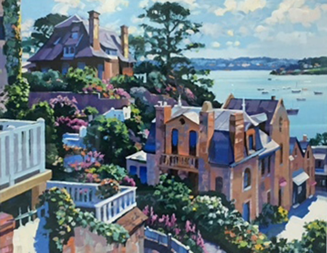 Afternoon in Dinard 1992 Limited Edition Print by Howard Behrens