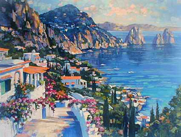 Isle of Capri 2000 Limited Edition Print - Howard Behrens