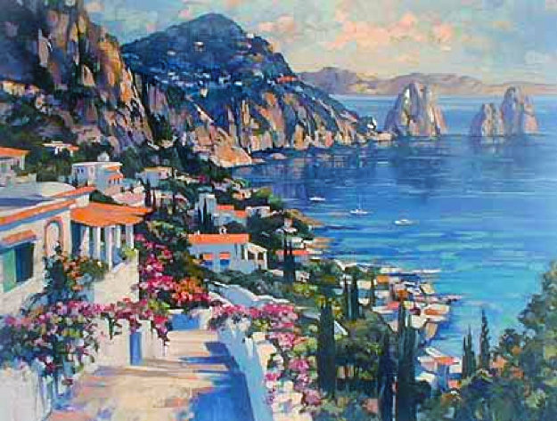 Isle of Capri 2000 Limited Edition Print by Howard Behrens