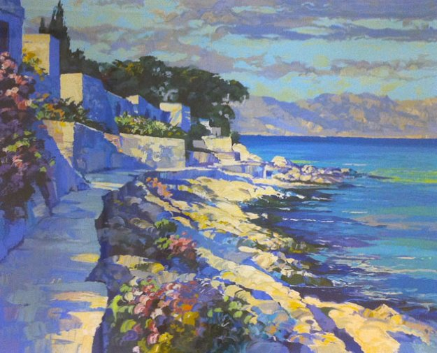Cap Ferrat 1990 Limited Edition Print by Howard Behrens