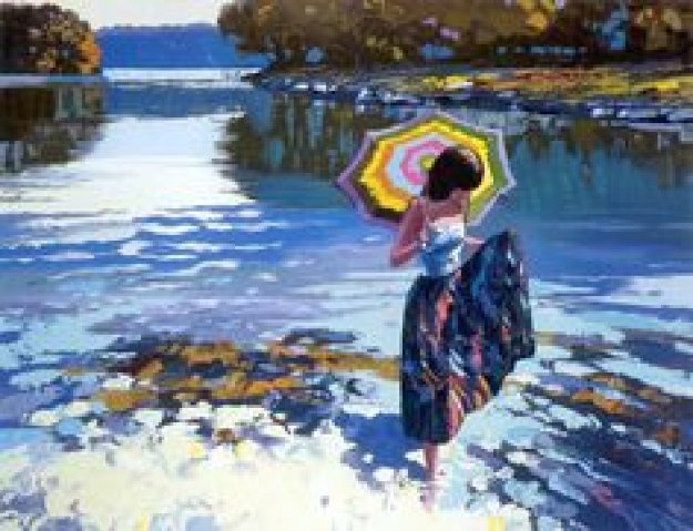 Parasol Limited Edition Print by Howard Behrens