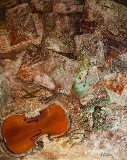 Untitled 54x44 Original Painting - Anatoly Belkin