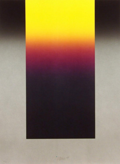 Barcelona #10 1988 Limited Edition Print by Larry Bell