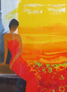 Retour de Jardin  AP 2006 Limited Edition Print by Emile Bellet