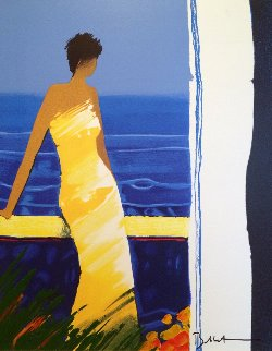 A Docee a La Mer 2004 Limited Edition Print by Emile Bellet