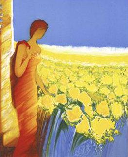 Parfum De Tournesols 2006 Limited Edition Print by Emile Bellet