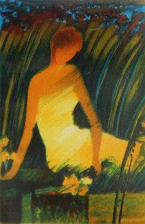 Parmi Les Roeaux 2006 Limited Edition Print by Emile Bellet