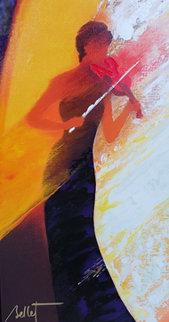 La Soliste 2012 Embellished Limited Edition Print by Emile Bellet