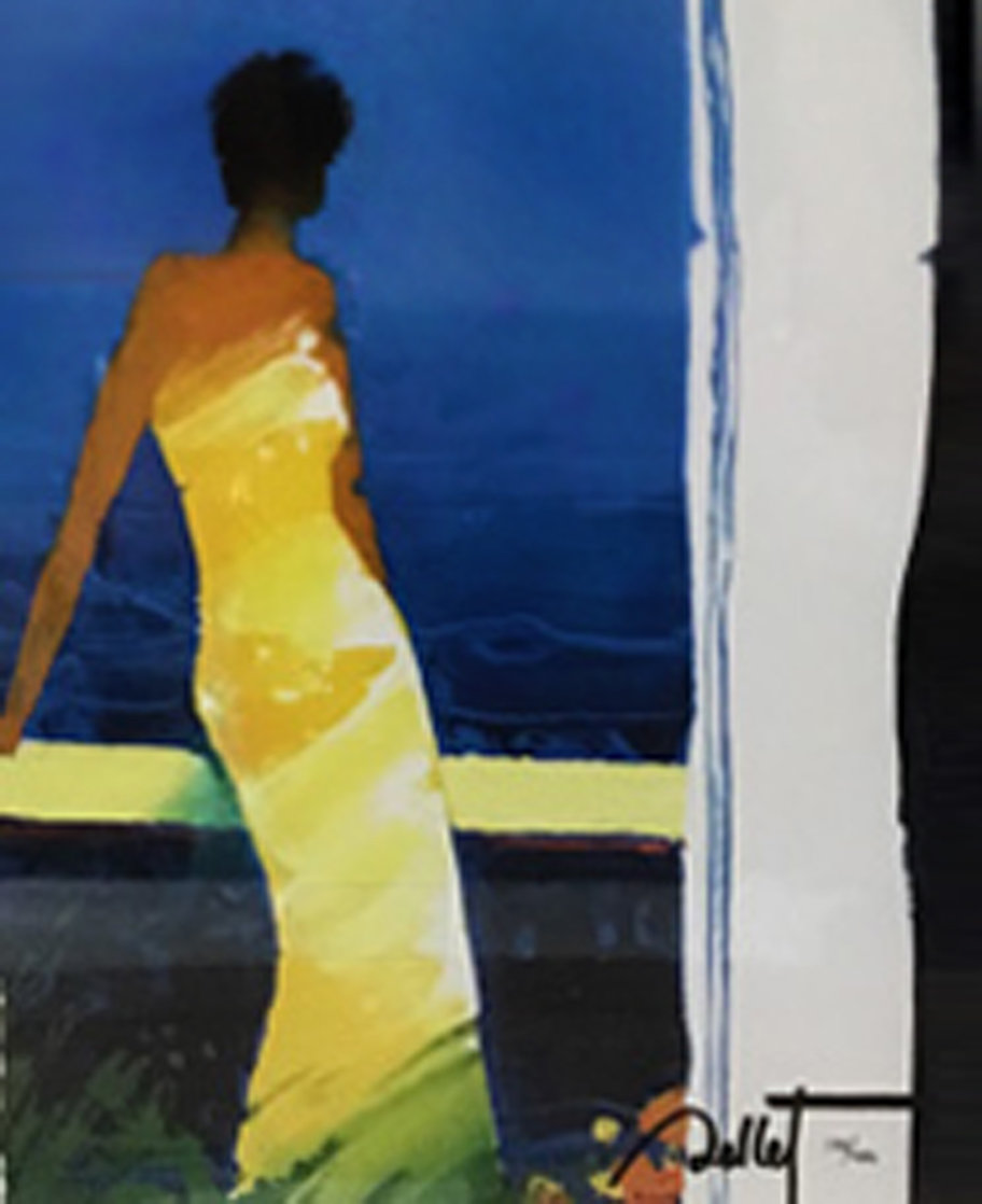A Docee a La Mer 2013 Limited Edition Print by Emile Bellet