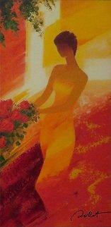 Bella Leona May 2012 Embellished Limited Edition Print - Emile Bellet