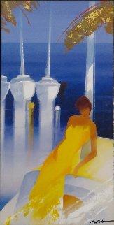 Marine Blanche 2012 Embellished Limited Edition Print - Emile Bellet